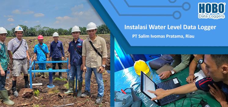 Installasi Water Level di PT. Salin Evomas