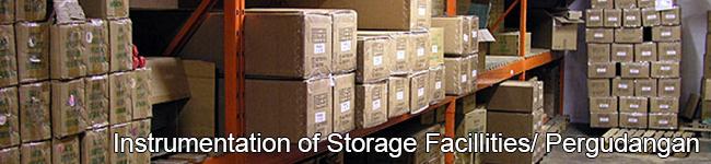 Instrumentation of Storage Facillities/ Pergudangan