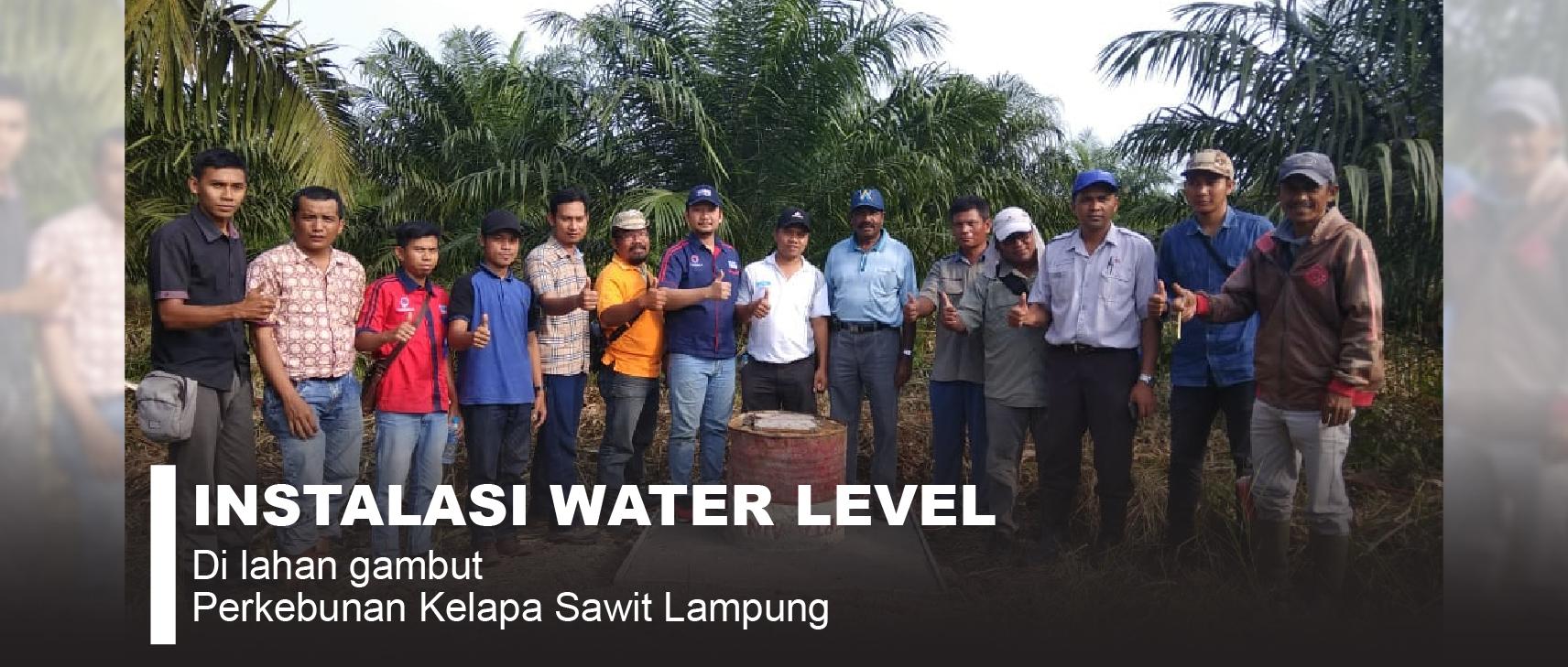 Installasi Dan Pelatihan Water Level di PT. Bangun Tata Lampung Asri