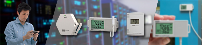 Temperature/RH Data Loggers & Sensors