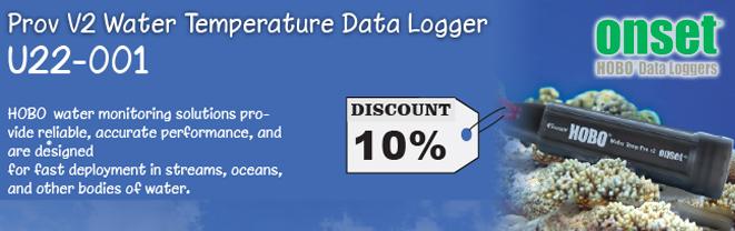 prov v2 water temperature data logger