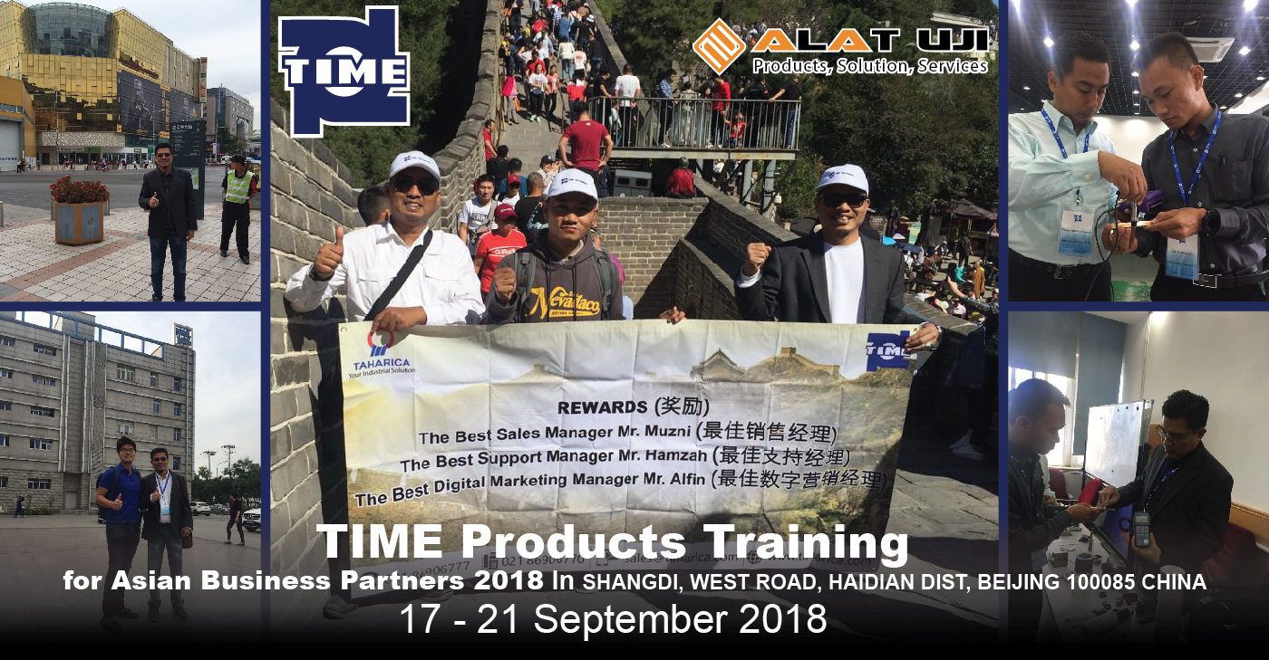 TIME Product Training