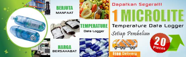 Temperature Data Logger Microlite