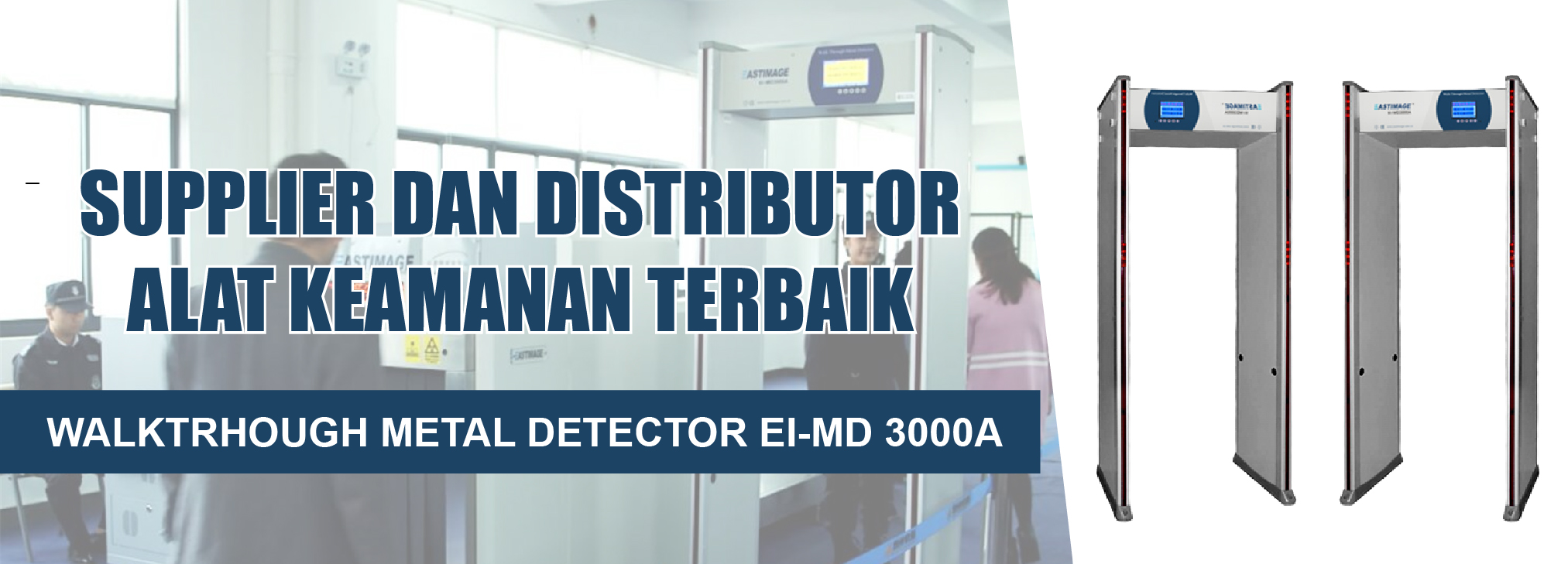 Walkthrough Metal Detector EI-MD3000A