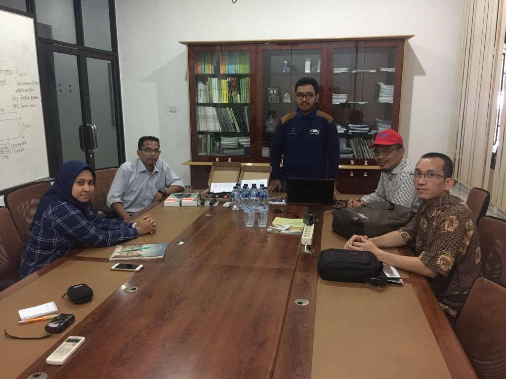 instalasi hobo water level u20L pusat penelitian kelapa sawit medan