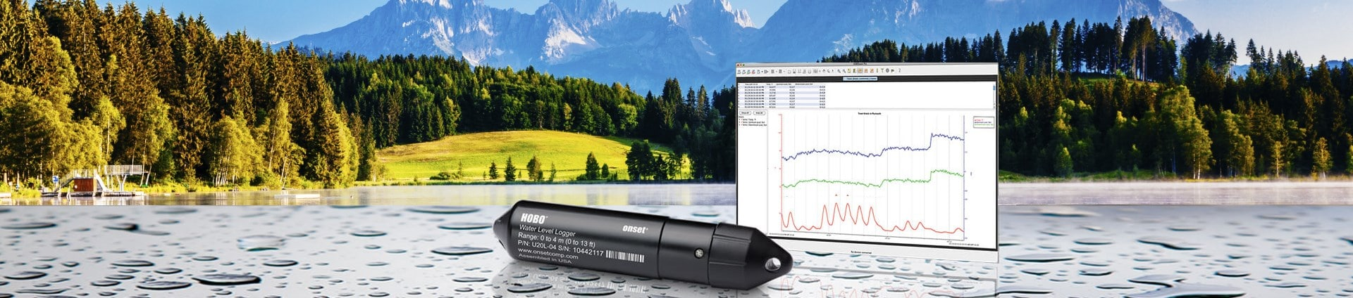 software watel level data logger